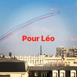 La PAF devant la fenêtre de la chambre de Léo, 16/07/2018