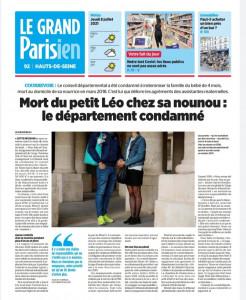 Article Justice pour Léo 2